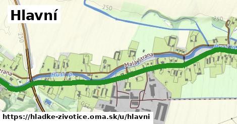 ilustrácia k Hlavní, Hladké Životice - 3,0km