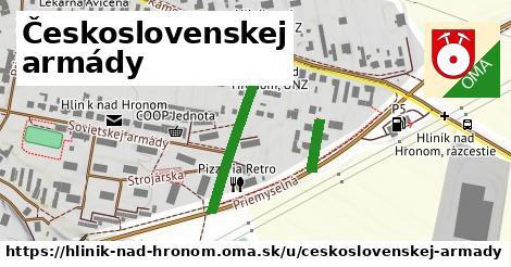 ilustračný obrázok k Československej armády, Hliník nad Hronom