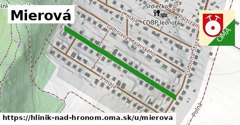 ilustrácia k Mierová, Hliník nad Hronom - 408m