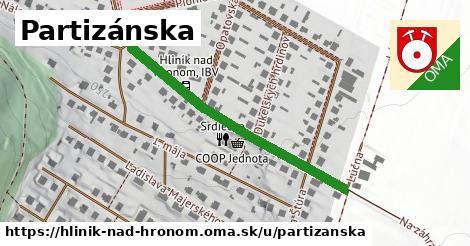 ilustrácia k Partizánska, Hliník nad Hronom - 394m