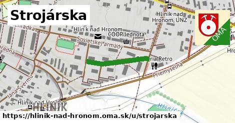 ilustrácia k Strojárska, Hliník nad Hronom - 200m