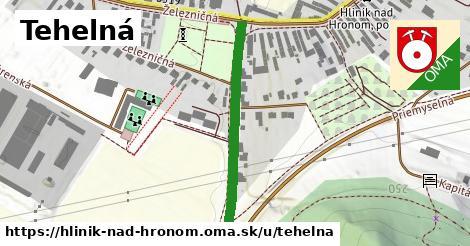 ilustrácia k Tehelná, Hliník nad Hronom - 325m