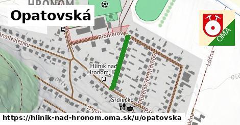 ilustrácia k Opatovská, Hliník nad Hronom - 177m
