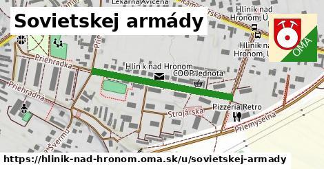 ilustrácia k Sovietskej armády, Hliník nad Hronom - 330m