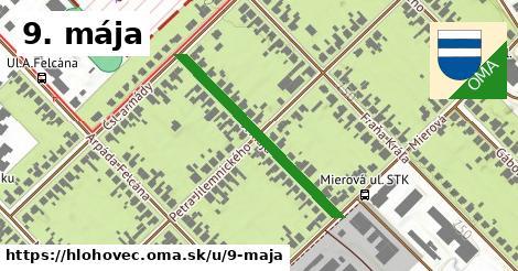 ilustrácia k 9. mája, Hlohovec - 328m