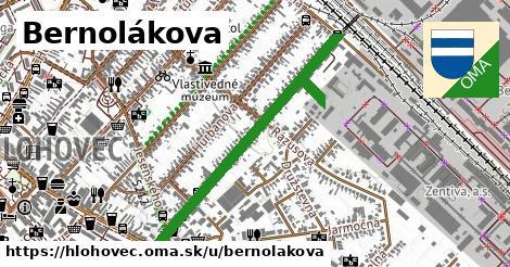 ilustrácia k Bernolákova, Hlohovec - 0,82km
