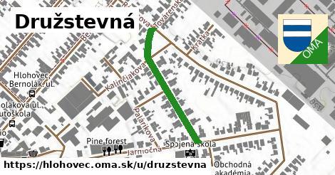 ilustračný obrázok k Družstevná, Hlohovec