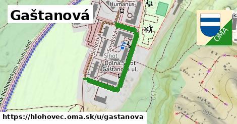 ilustrácia k Gaštanová, Hlohovec - 371m