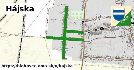 ilustrácia k Hájska, Hlohovec - 1,30km