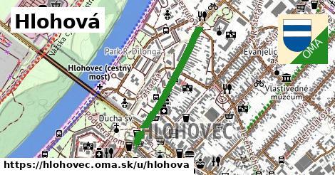 ilustrácia k Hlohová, Hlohovec - 567m
