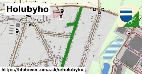 ilustračný obrázok k Holubyho, Hlohovec