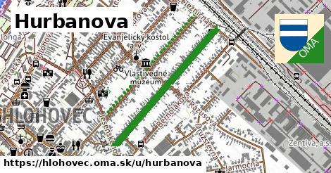 ilustračný obrázok k Hurbanova, Hlohovec