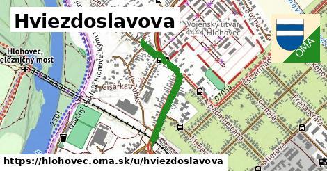 ilustrácia k Hviezdoslavova, Hlohovec - 566m