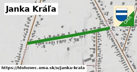 ilustrácia k Janka Kráľa, Hlohovec - 455m