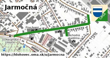 ilustrácia k Jarmočná, Hlohovec - 579m