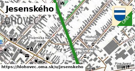 ilustrácia k Jesenského, Hlohovec - 416m