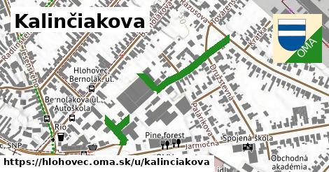 ilustrácia k Kalinčiakova, Hlohovec - 296m