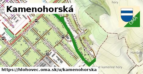 ilustračný obrázok k Kamenohorská, Hlohovec