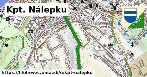 ilustrácia k Kpt. Nálepku, Hlohovec - 672m