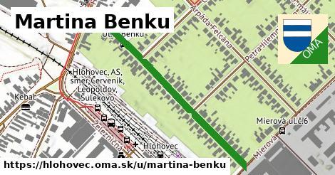 ilustrácia k Martina Benku, Hlohovec - 480m