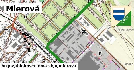 ilustrácia k Mierová, Hlohovec - 1,20km