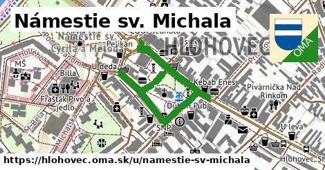 ilustračný obrázok k Námestie sv. Michala, Hlohovec