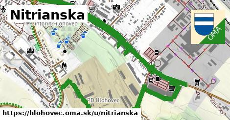 ilustrácia k Nitrianska, Hlohovec - 3,1km