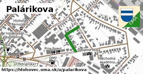 ilustrácia k Palárikova, Hlohovec - 187m