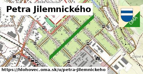 ilustračný obrázok k Petra Jilemnického, Hlohovec