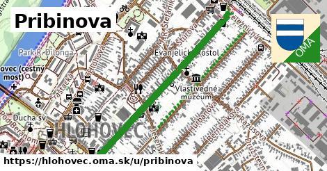 ilustrácia k Pribinova, Hlohovec - 0,90km