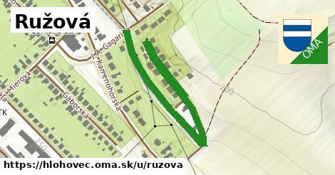 ilustračný obrázok k Ružová, Hlohovec