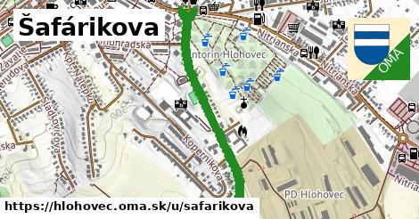 ilustračný obrázok k Šafárikova, Hlohovec