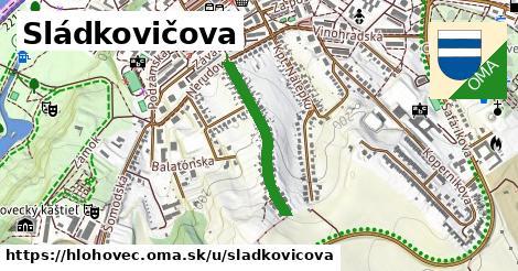 ilustrácia k Sládkovičova, Hlohovec - 484m
