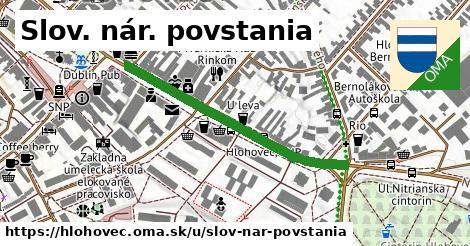 ilustrácia k Slov. nár. povstania, Hlohovec - 394m