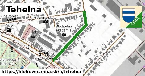 ilustrácia k Tehelná, Hlohovec - 323m