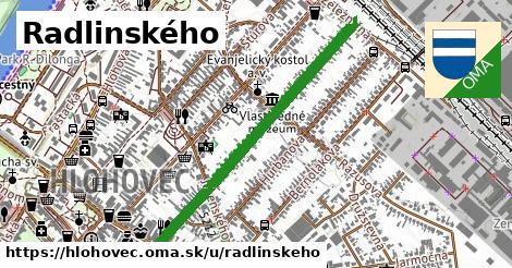 ilustrácia k Radlinského, Hlohovec - 0,88km