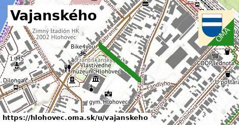 Vajanského, Hlohovec