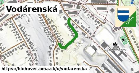 ilustrácia k Vodárenská, Hlohovec - 213m