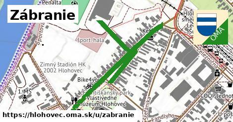 ilustračný obrázok k Zábranie, Hlohovec