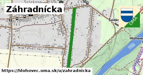ilustrácia k Záhradnícka, Hlohovec - 618m