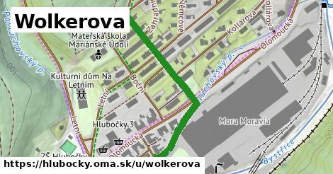 ilustrácia k Wolkerova, Hlubočky - 412m