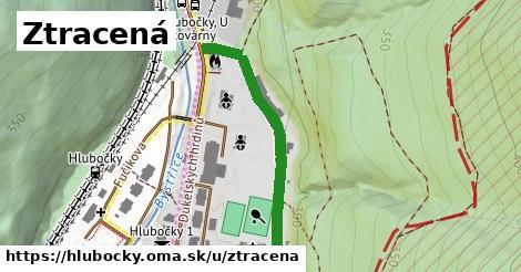 ilustrácia k Ztracená, Hlubočky - 374m