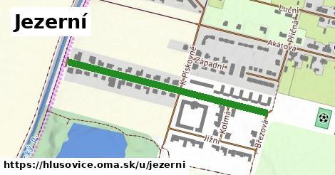ilustrácia k Jezerní, Hlušovice - 254m