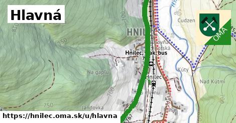 ilustrácia k Hlavná, Hnilec - 2,5km