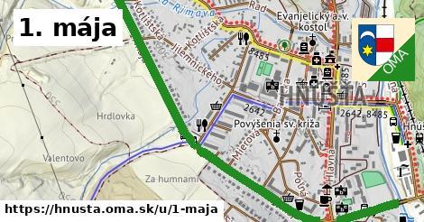 ilustrácia k 1. mája, Hnúšťa - 1,61km