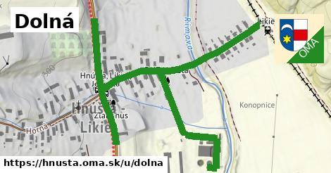 ilustrácia k Dolná, Hnúšťa - 0,88km
