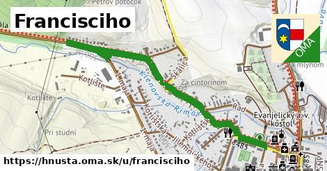 ilustrácia k Francisciho, Hnúšťa - 1,33km