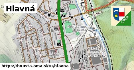 ilustrácia k Hlavná, Hnúšťa - 3,2km