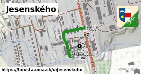ilustrácia k Jesenského, Hnúšťa - 277m