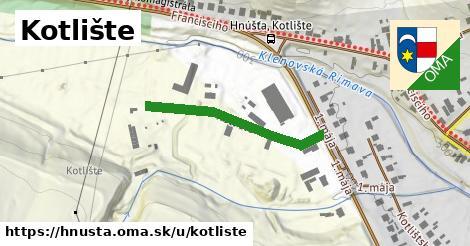 ilustračný obrázok k Kotlište, Hnúšťa
